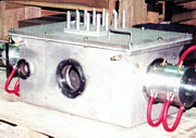 bright annealing heating chamber