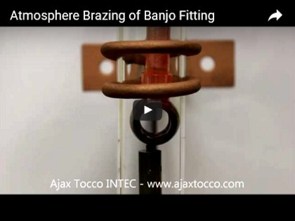 Atmosphere Brazing of Banjo Fitting