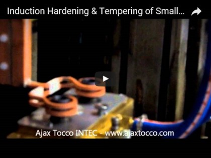 Induction Hardening & Tempering of Small Tube Ends
